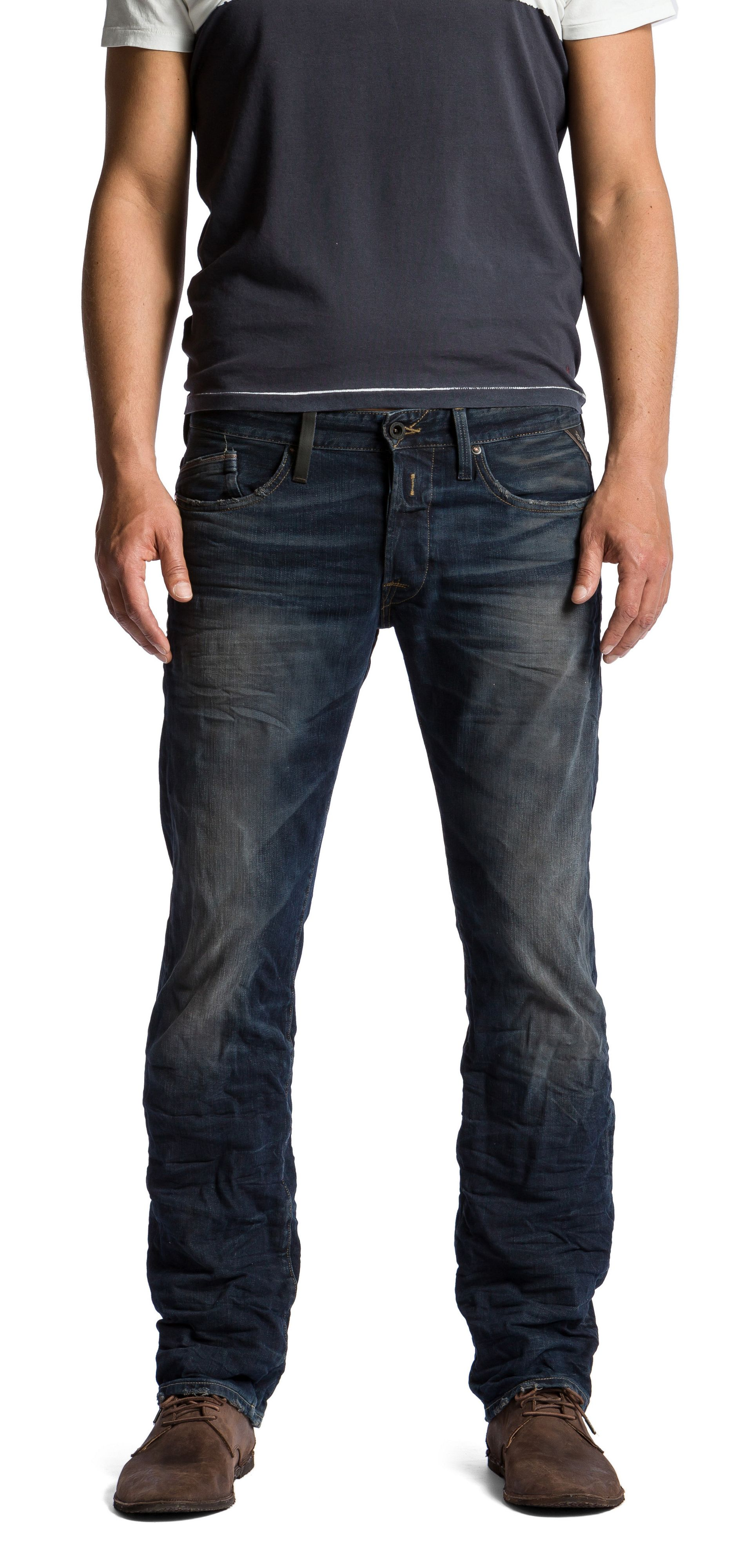 Laserblast Life Waitom regular slim fit jeans
