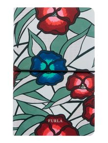 Furla Multi-coloured floral notebook