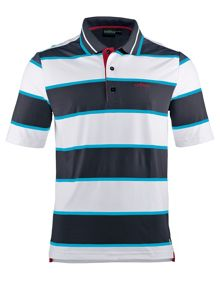 Chervo Andreino Stripe Regular Fit Polo Shirt