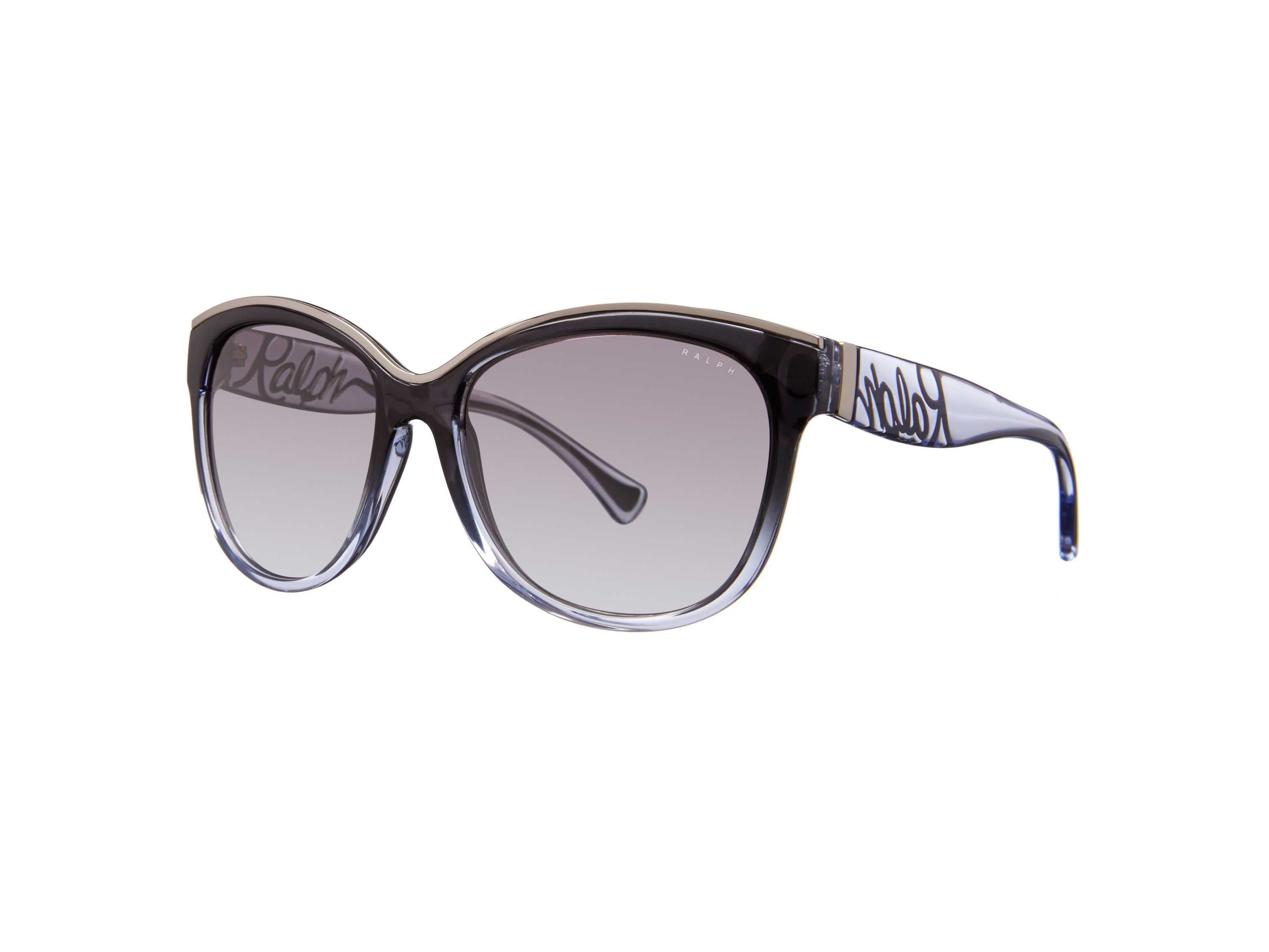 Women grey gradient cat eye sunglasses