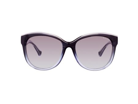 Ralph Women grey gradient cat eye sunglasses