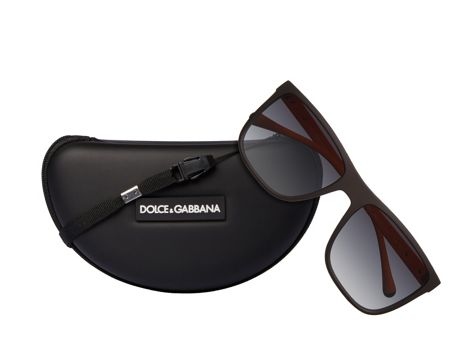 Dolce&Gabbana Men polar grey gradient squared sunglasses