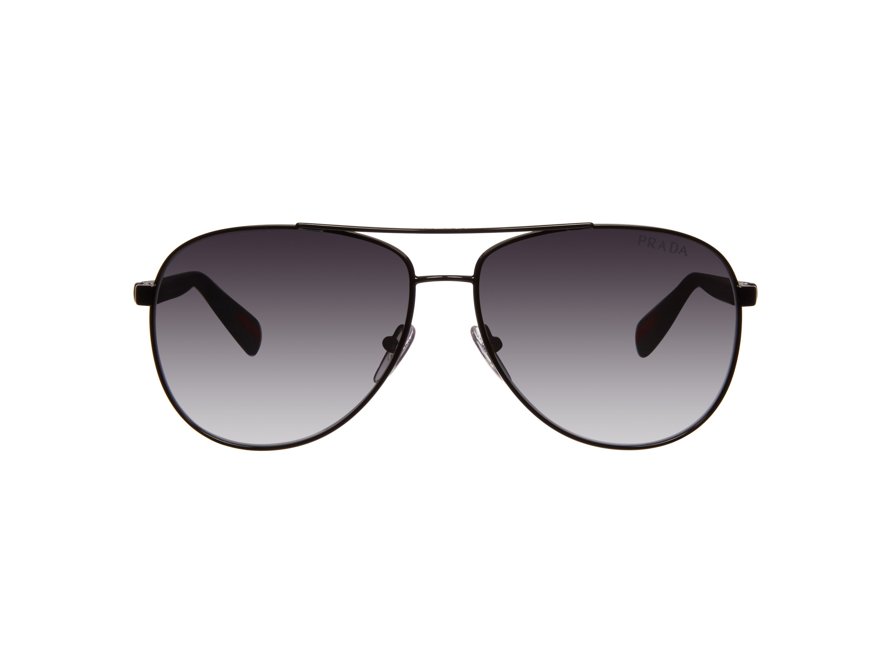 Men`s polar grey gradient pilot sunglasses