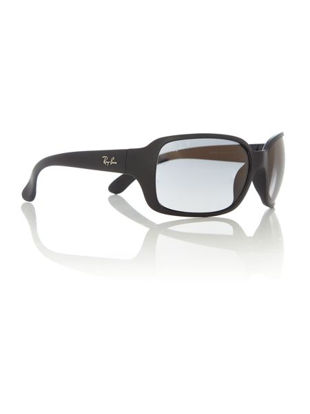 Ray-Ban RB4068  female black square sunglasses