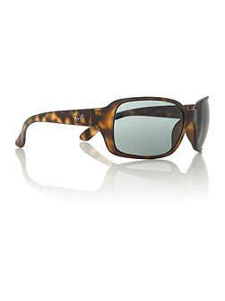 RB4068 female brown square sunglasses