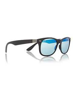 RB4223 unisex black square sunglasses