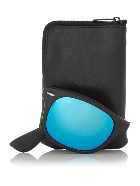 Ray-Ban RB4223  unisex black square sunglasses