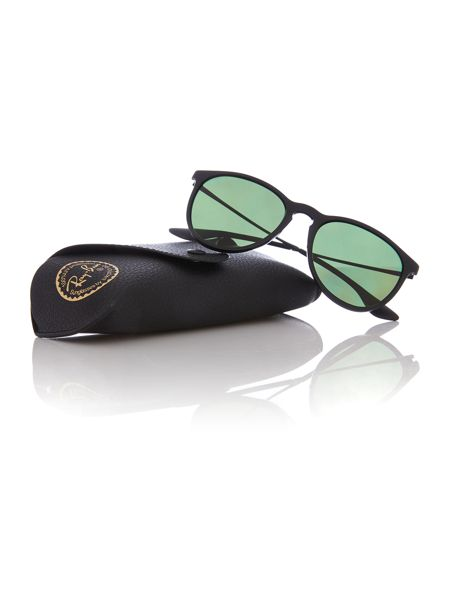 Ray-Ban RB4171 Erika male black aviator sunglasses