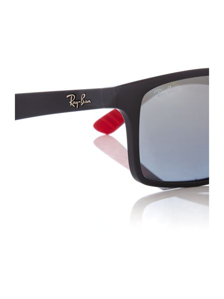 Ray-Ban RB4234  male grey rectangle sunglasses