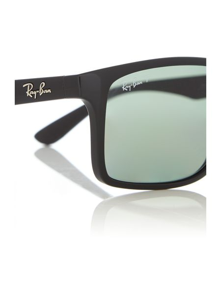 Ray-Ban RB4234  male black rectangle sunglasses