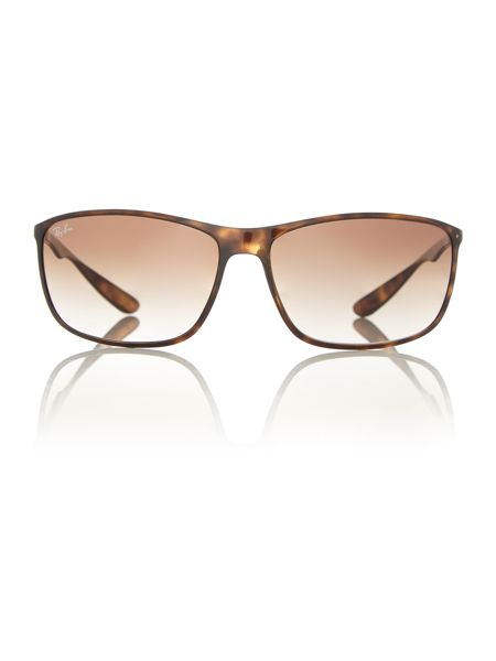 Ray-Ban RB4231  male brown square sunglasses