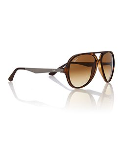 RB4235 male brown aviator sunglasses