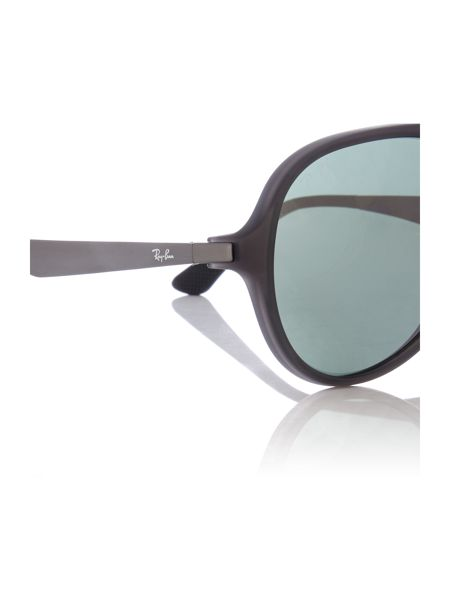 Ray-Ban RB4235  male grey aviator sunglasses