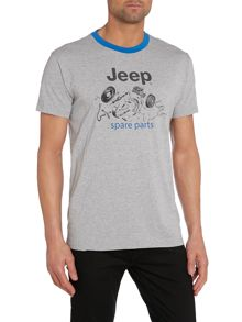 Jeep Jp man t-shirt spare parts hg j4p