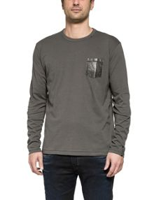 Replay Long-sleeve jersey t-shirt