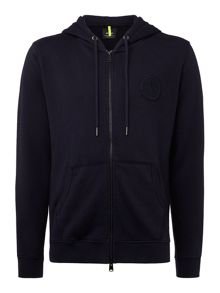 Replay Ribbed cotton hoodie