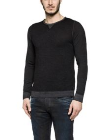 Replay Merino wool crewneck jumper
