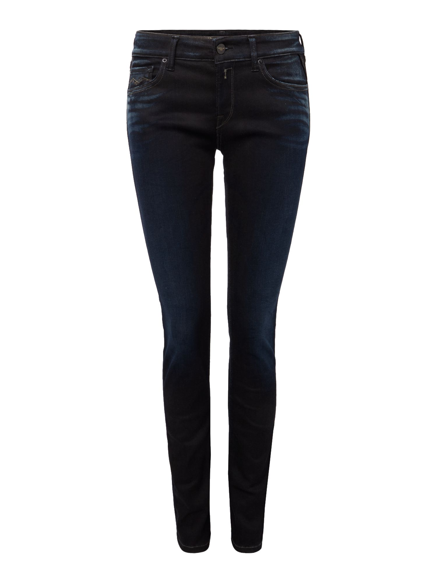 Luz Hyperflex Skinny-fit Jeans, Denim Dark Indigo
