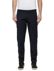 Replay Tapered-fit wool blend trousers