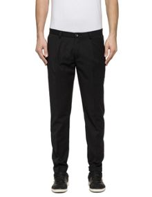 Replay Slim-fit wool blend trousers