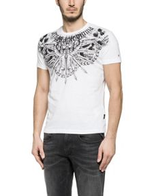 Replay Illustration printed jersey t-shirt