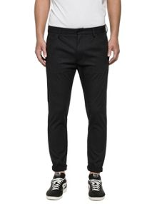 Replay Slim-fit stretch dobby trousers
