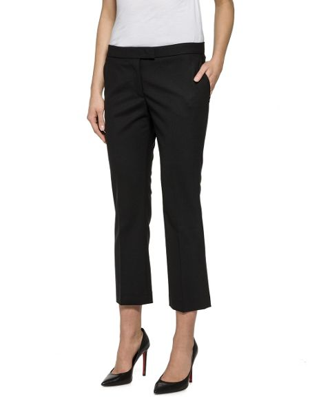 Replay Stretch Wool Blend Trousers