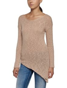 Replay Asymmetric knitted jumper