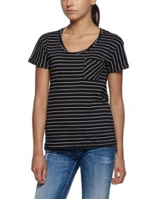 Replay Striped T-shirt with chest pocket