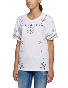 Replay All-over print jersey T-shirt