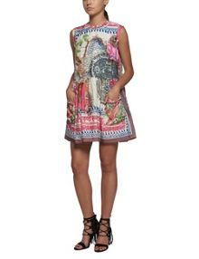 Replay Colourful print viscose dress