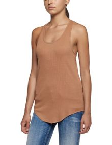 Replay Ribbed cotton top