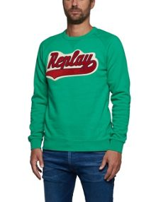 Replay Sweatshirt with REPLAY patch