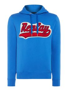 Replay Cotton hooded sweatshirt