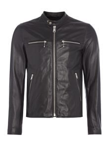 Replay Zip-front biker jacket