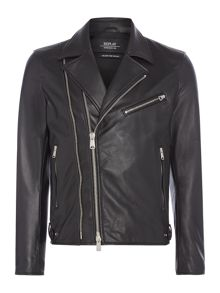 Replay Shiny biker jacket