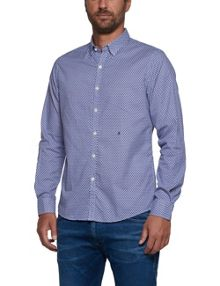 Replay All-over print cotton shirt