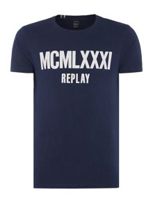 Replay Letter-print T-shirt