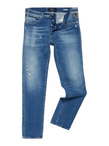 Replay Rbj.901 tapered-fit jeans