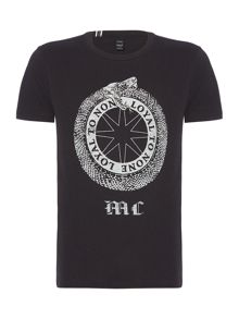 Replay Letter-print cotton T-shirt