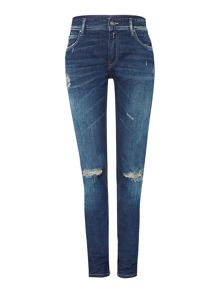 Replay Kellygray straight-fit jeans