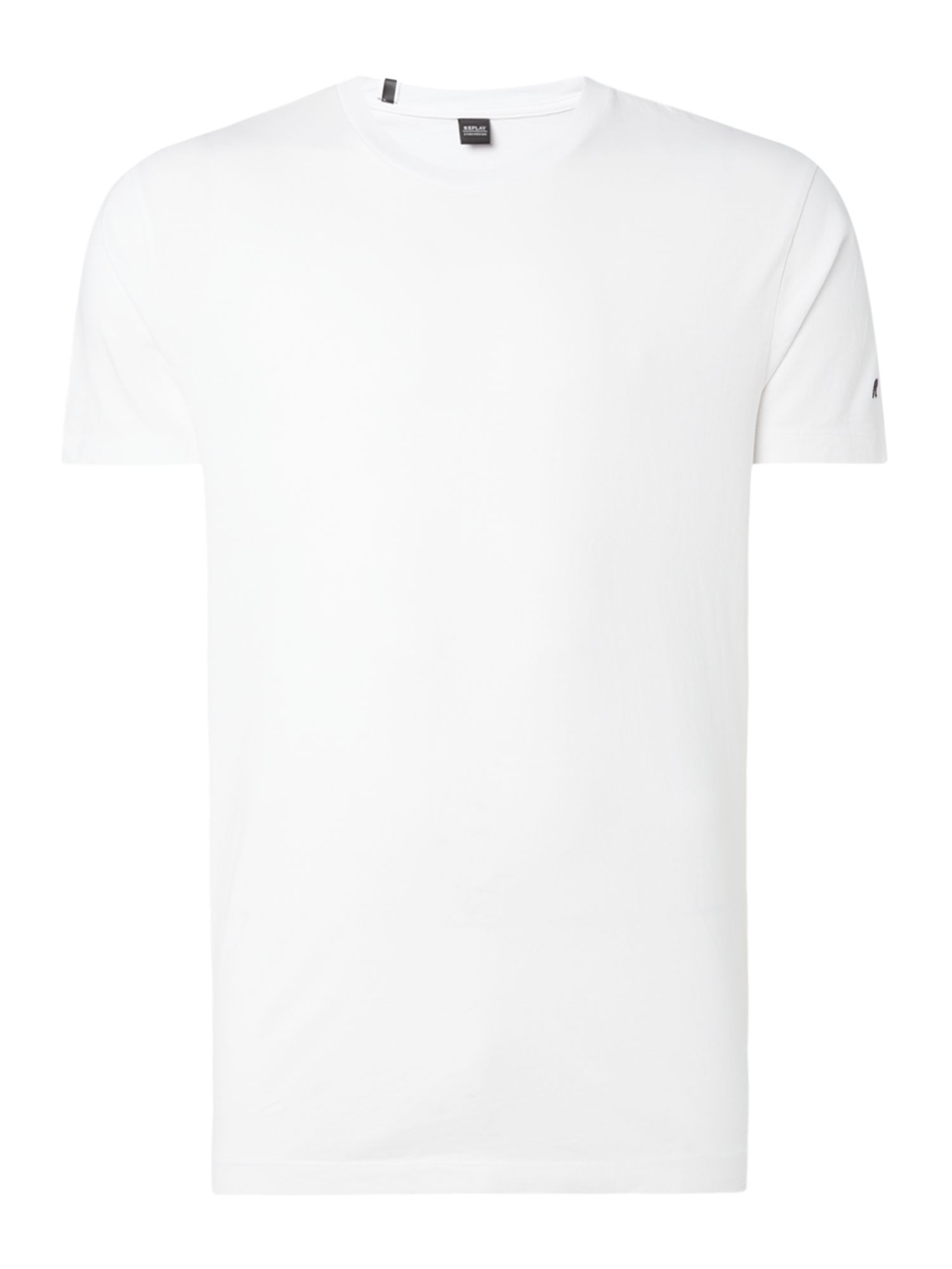 Men's Replay Jersey T-shirt, White