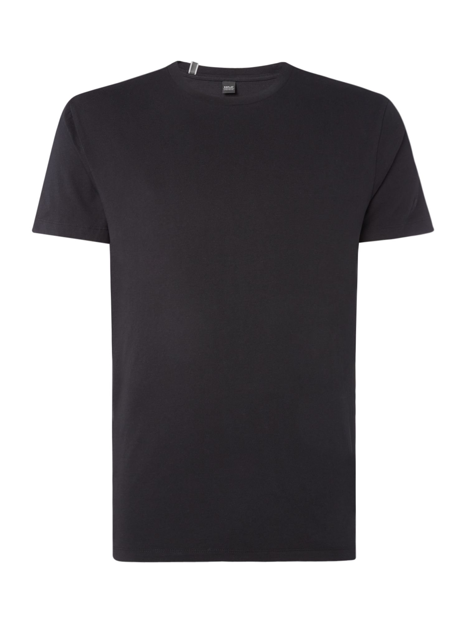 Men's Replay Jersey T-shirt, Nearly Black