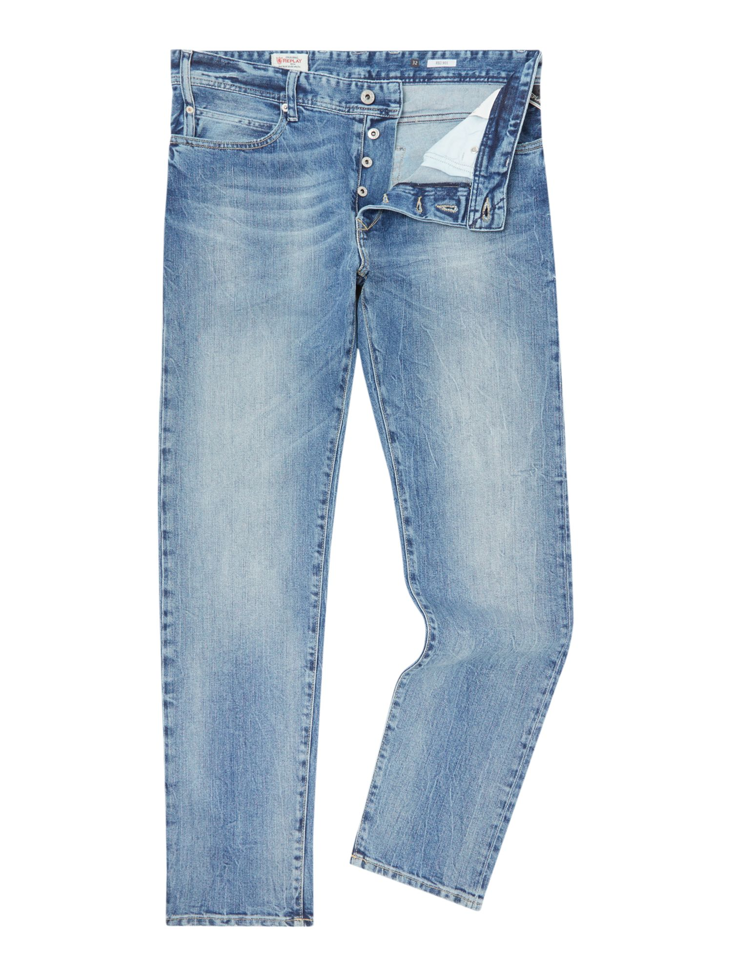 Tapered Jeans REPLAY MA901 RBJ.901