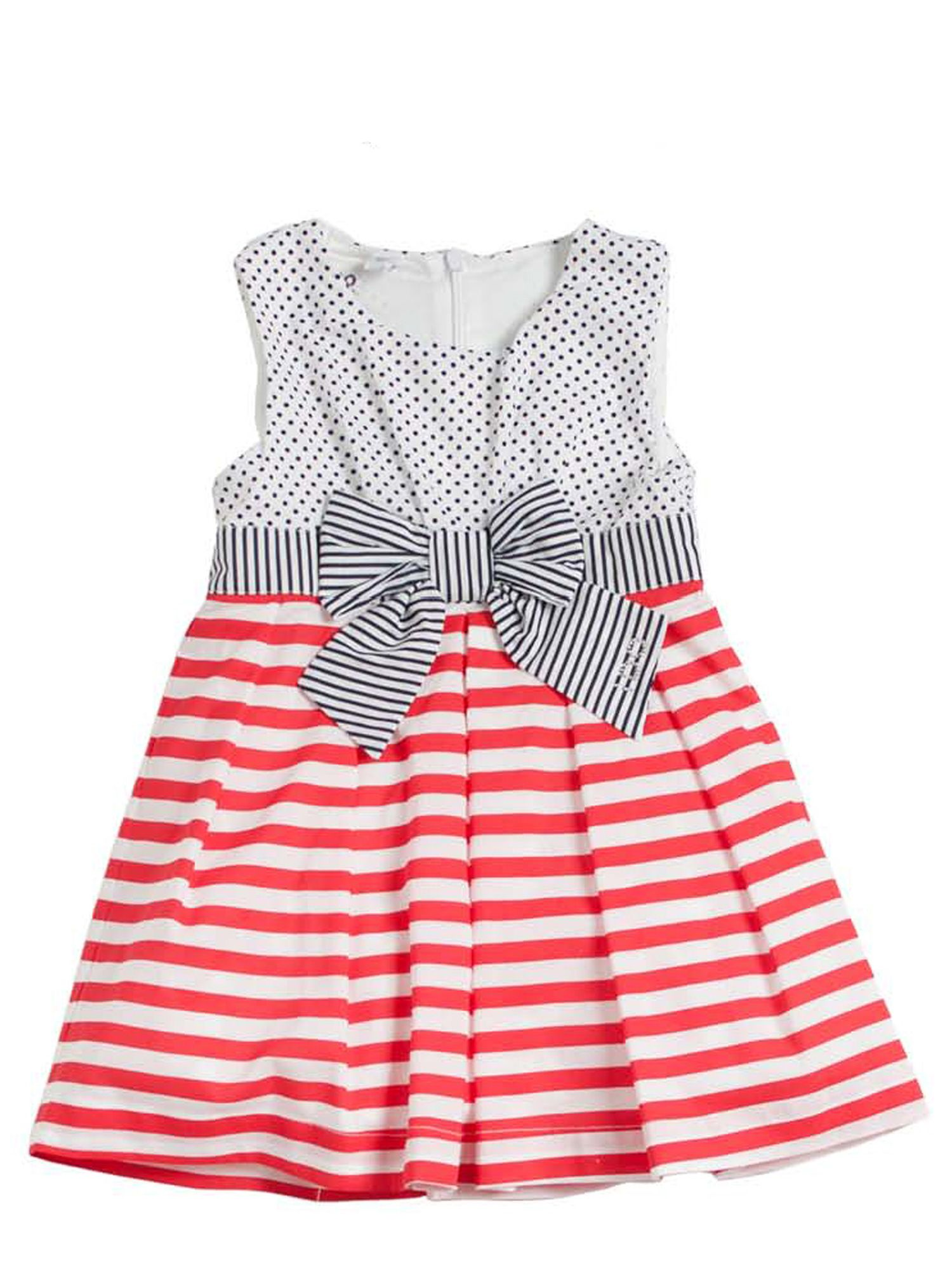 Girls striped dress