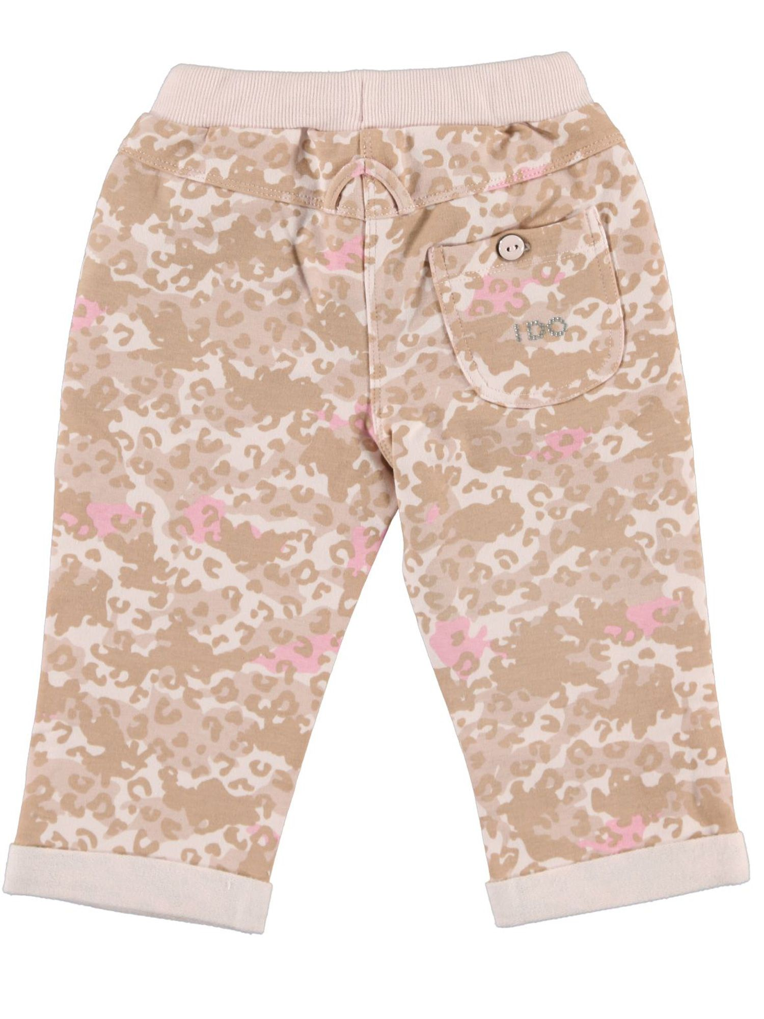Girls camouflage stretchy trouser