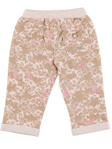iDo Girls camouflage stretchy trouser