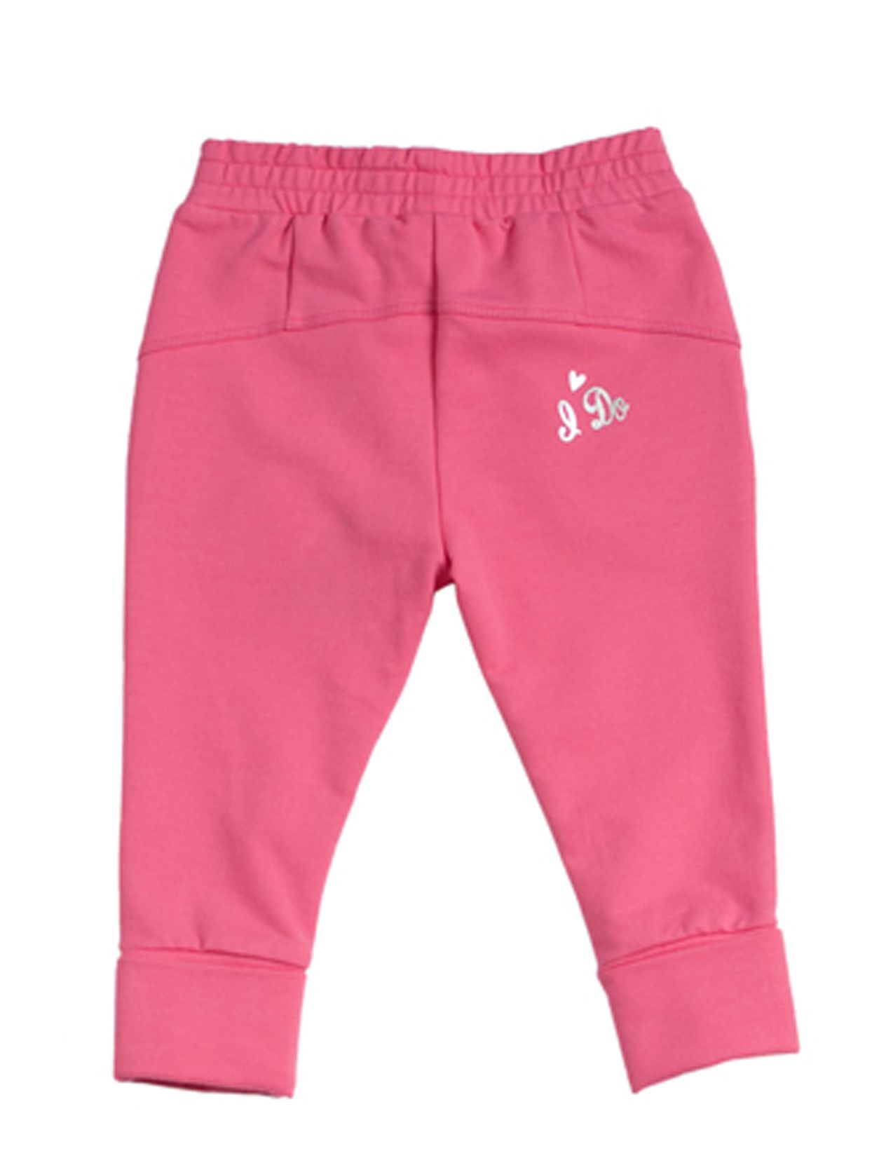 Girls stretchy fleece fuxia trouser