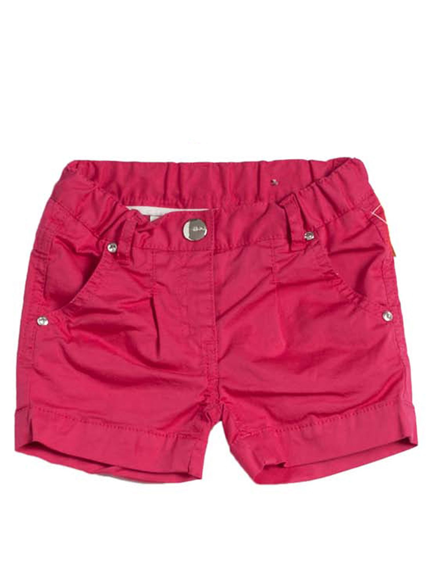 Girls fuxia stretchy shorts