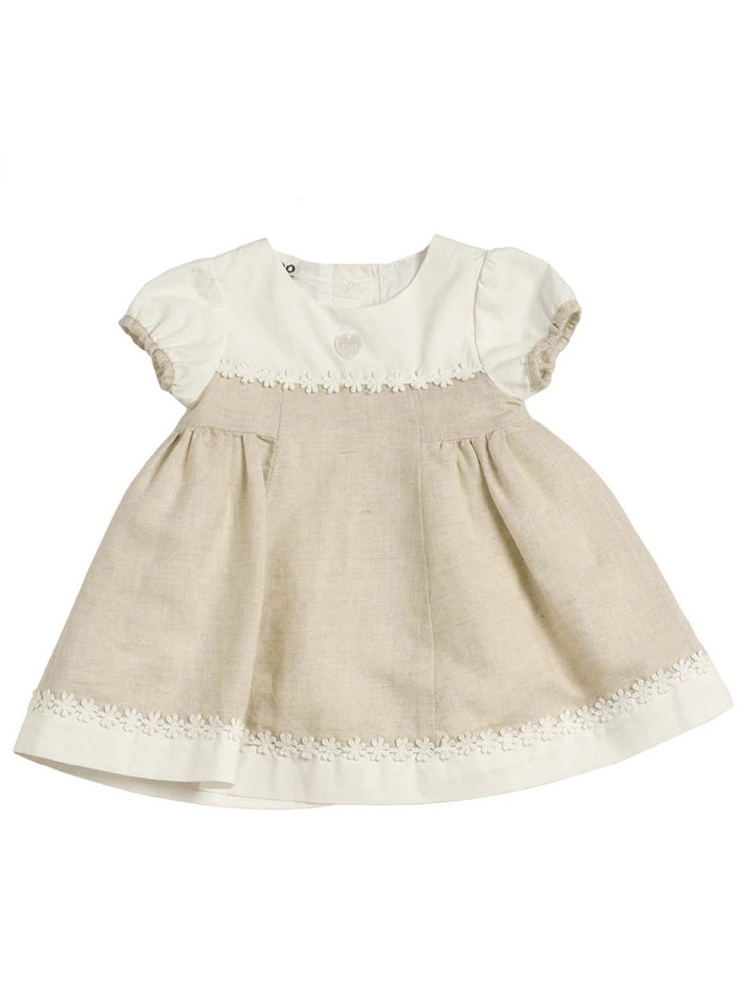 Baby girls linen cotton dress